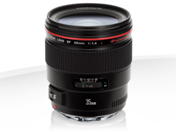 Rent: Canon 35mm f/1.4 L Series