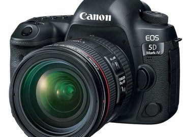 Rent: Canon 5D Mark4 with 3 Lenses and Cards with Camera Bag