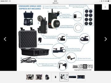 Rent: CineGears wireless follow Focus