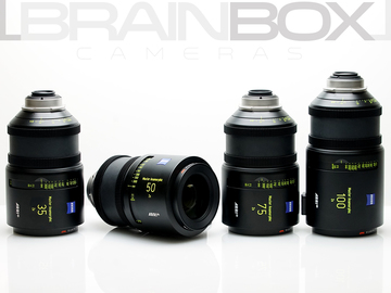 Rent: Arri / Zeiss Master Anamorphic Lenses - 4 Lens Set