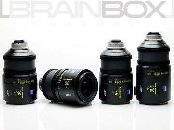 Rent: Arri / Zeiss Master Anamorphic Lenses - 4 Lens Set