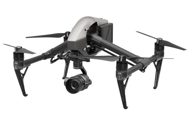 DJI Inspire 2 Drone W X5s 5K Gimbal Camera 4 Lenses