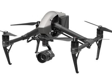 Rent: DJI Inspire 2 Drone w/ x5s 5K Gimbal/Camera + 4 Lenses