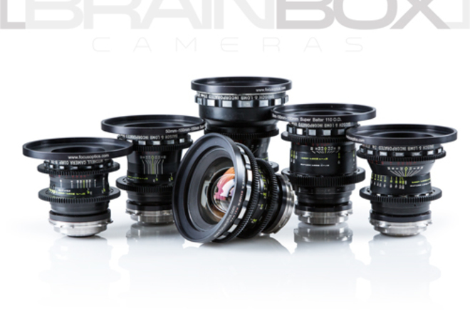 Super Baltars - 6 Lens Set - Vintage Cinema Primes