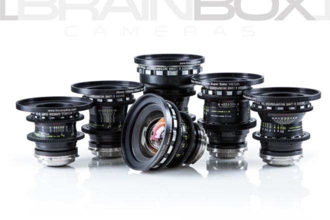 Super Baltars - 6 Lens Set - Vintage Cinema Primes