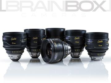 Rent: Cooke S4 Primes - 6 Lens Set