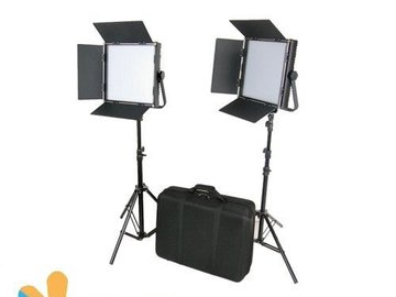 CAME-TV - High CRI Bi-color 1024 LED Panel Light Package x 2