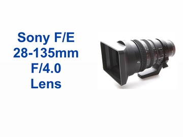 Rent: SONY 28-135MM F/4.0 LENS (F/E-MOUNT )