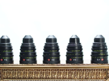 Rent: Beautiful LEICA SUMMICRON-C PL 5 Lens Set