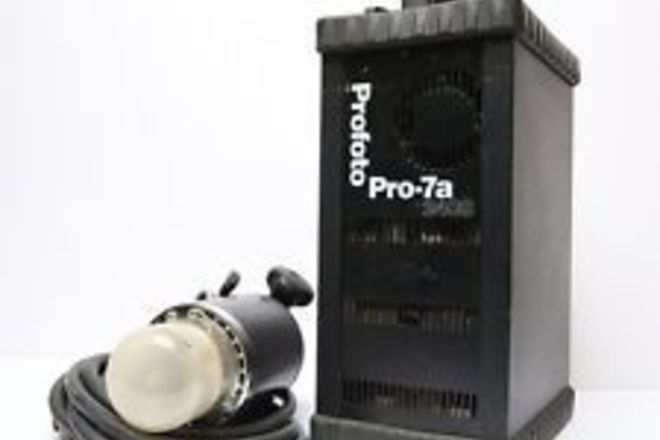 Profoto 1x 7a 2400 pack 1 Pro head + trigger set package