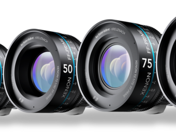 Rent: 5 Lens Set - Schneider Xenon FF-Prime Lenses