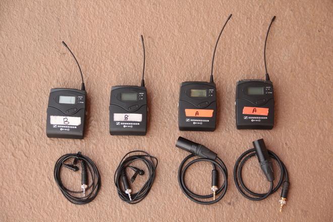 2x Sennheiser G3 Lav Kit (A&G BLOCK) and H4n