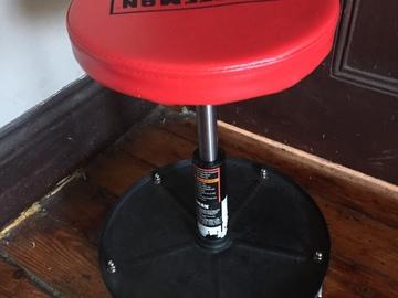 Rent: Craftsman Adjustable Mechanics Stool