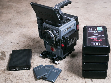 Rent: RED SCARLET-W BASE PACKAGE