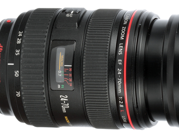 24-70mm F2.8 Canon L Series Macro