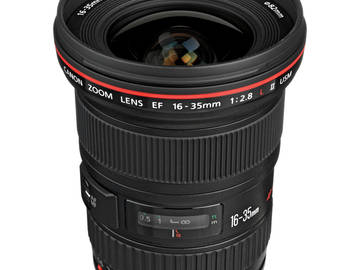 16-35mm F2.8 Canon L Series