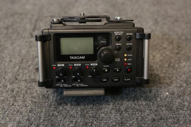 Tascam DR-60D Audio Recorder 4-Channel Linear PCM