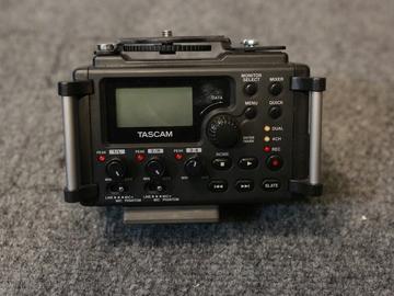 Rent: Tascam DR-60D Audio Recorder 4-Channel Linear PCM
