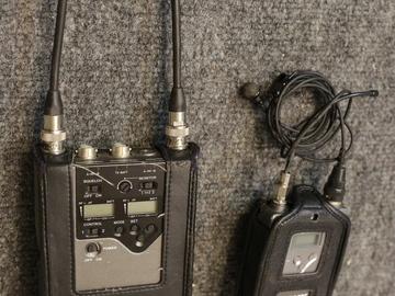Rent: Sony Wireless Lavalier 2 Mic Kit