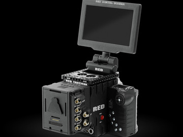 Rent: Red Epic Dragon w/ Nikon Lens Set & on Camera Monitor