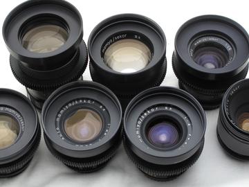 Rent: Mamiya Cinevised Lens Set EF MOUNT  21/28/35/50/60/80/135