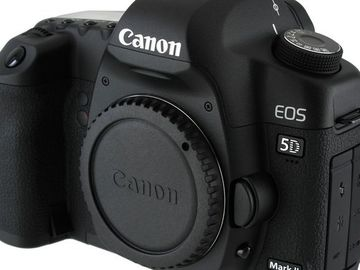 Rent: Canon 5D Mark ii- with charger & batteries.