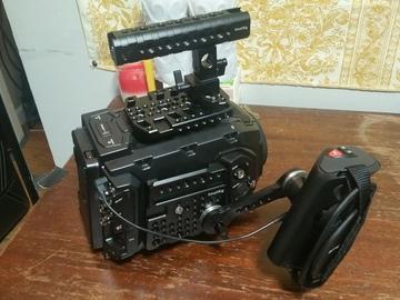 Rent: Blackmagic Ursa Mini 4.6K EF + Media + Batteries