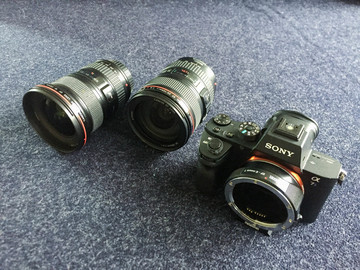 Rent: Sony a7S II, Canon 24-105mm f/4L, 16-35mm f/2.8L, Metabones