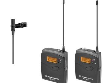 Rent: 2 Sennheiser G3 wireless lav kits