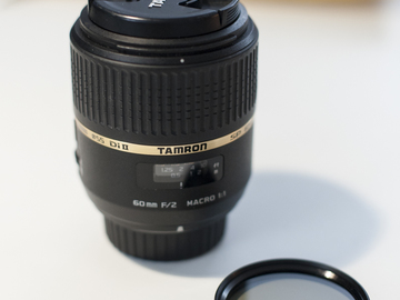 Rent: Tamron SP AF60mm f/2 DI II LD (IF) 1:1 Macro Lens