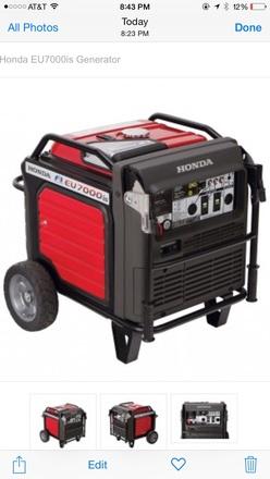 Honda 7000 Generator (55A)