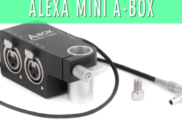 Rent: Alexa Mini A-Box / Arri Alexa Mini Audio Cable XLR