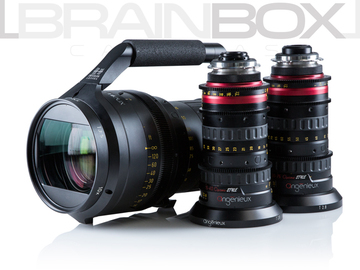 Rent: Angenieux Optimo 3 Lens Bundle - 16-40mm, 30-76mm, 25-250mm