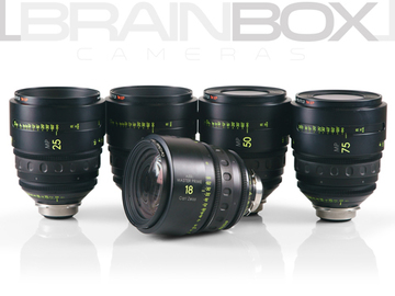 Rent: Arri / Zeiss MASTER PRIMES - 5 Lens Set