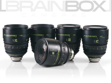 Rent: Arri / Zeiss MASTER PRIMES - 5 Lens Set