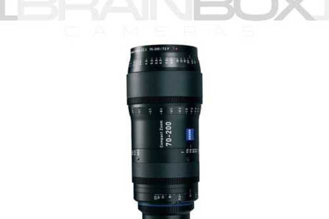 Rent Zeiss CZ.2 Compact Zoom 70-200mm T2.9 - Full Frame Coverage ...