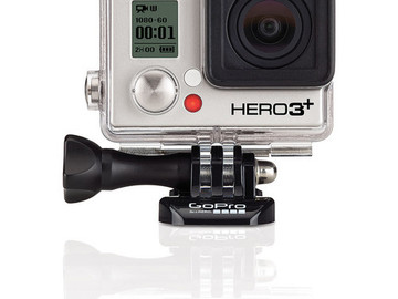 Rent: GoPro HERO3+ Black Edition Camera