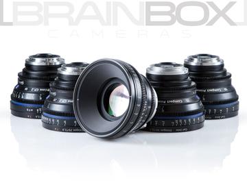 Rent: ZEISS / Arri Compact Primes CP.2 - 5 Lens Set