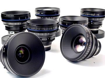 Rent: ZEISS / Arri Compact Primes CP.2 - 7 Lens Set