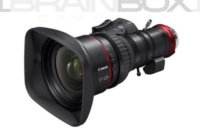 CANON 17-120mm Cine-Servo - PL or EF Mount - T2.9