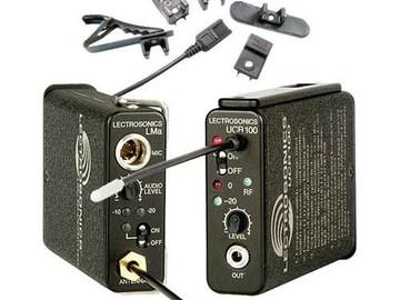 Rent: Lectrosonic UCR100 Lav kit