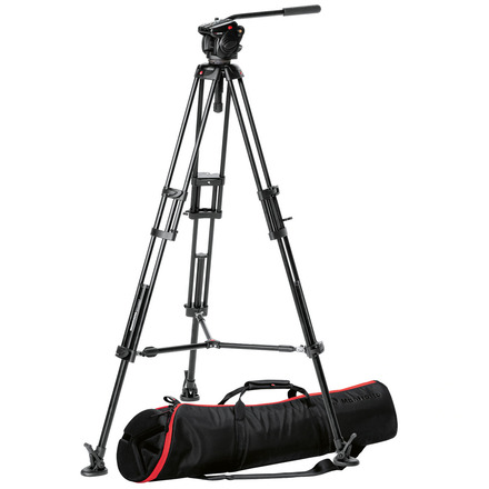 Manfrotto 546 Tripod with 504HD Head (Black)