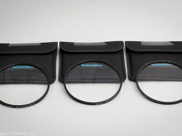 Rent: Schneider 138mm Diopters Set of 3 filters  (+1,+2,+3)