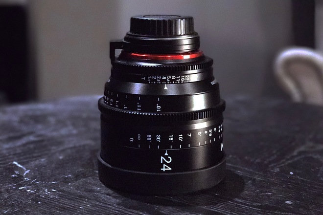 Rokinon Xeen 24mm T1.5 XN24-C Cinema EF Series Lens