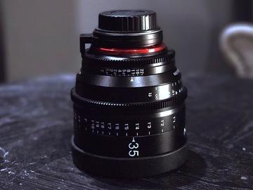 Rent: Rokinon Xeen 35mm T1.5 XN35-C Cinema EF Series Lens