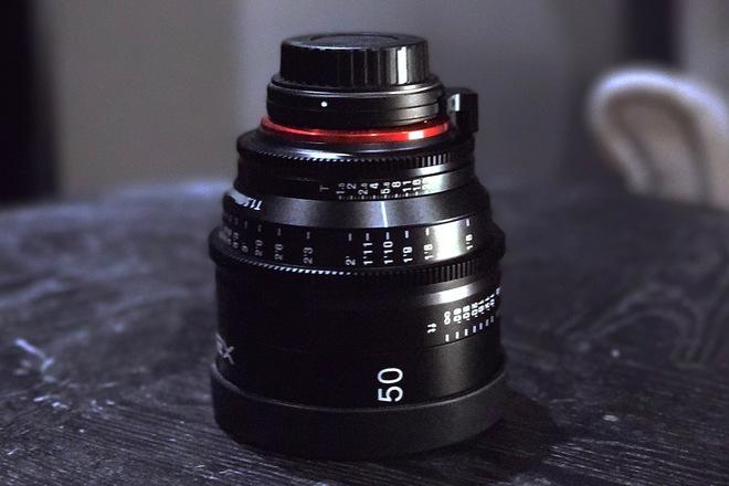 Rokinon Xeen 50mm T1.5 XN50-C Cinema EF Series Lens