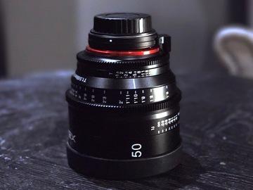 Rent: Rokinon Xeen 50mm T1.5 XN50-C Cinema EF Series Lens