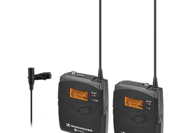 Rent: Sennheiser G2 Wireless Transmitter and Receiver