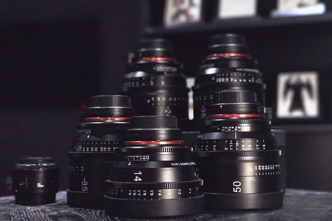 Rokinon Xeen Cinema EF Series Lens Set - 14, 24,35,50,85