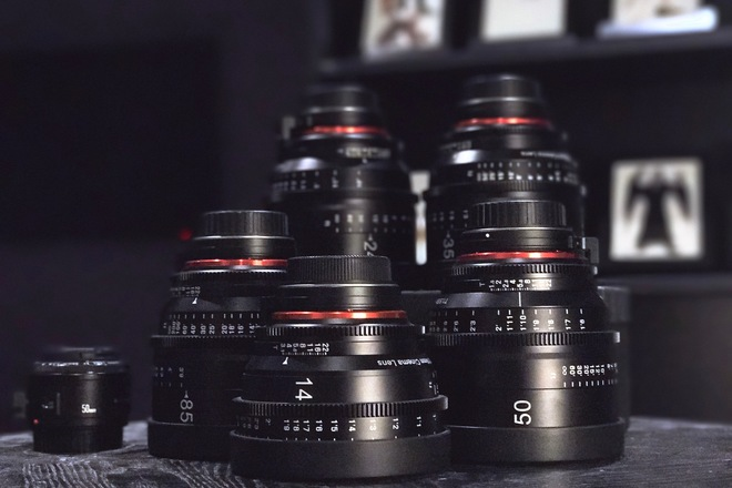Rokinon Xeen Cinema EF Series Lens Set - 14, 24,35,50,85